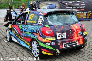 Reanult Clio CUP RS III zespołu Basenhurt A&T Racing Team