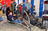 Zaawansowane symulatory jazdy samochodem dla dzieci firmy 4MAX Marketing Events
